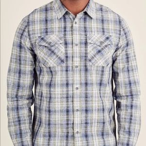 True Religion Men's Utility Western Button Up